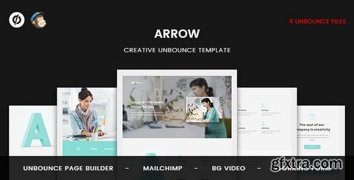 ThemeForest - Arrow | Creative Unbounce Landing Page 20377119