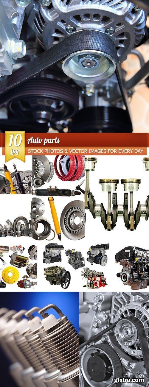 Auto parts, 10 x UHQ JPEG