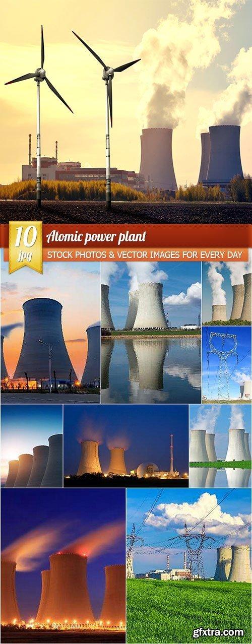 Atomic power plant, 10 x UHQ JPEG