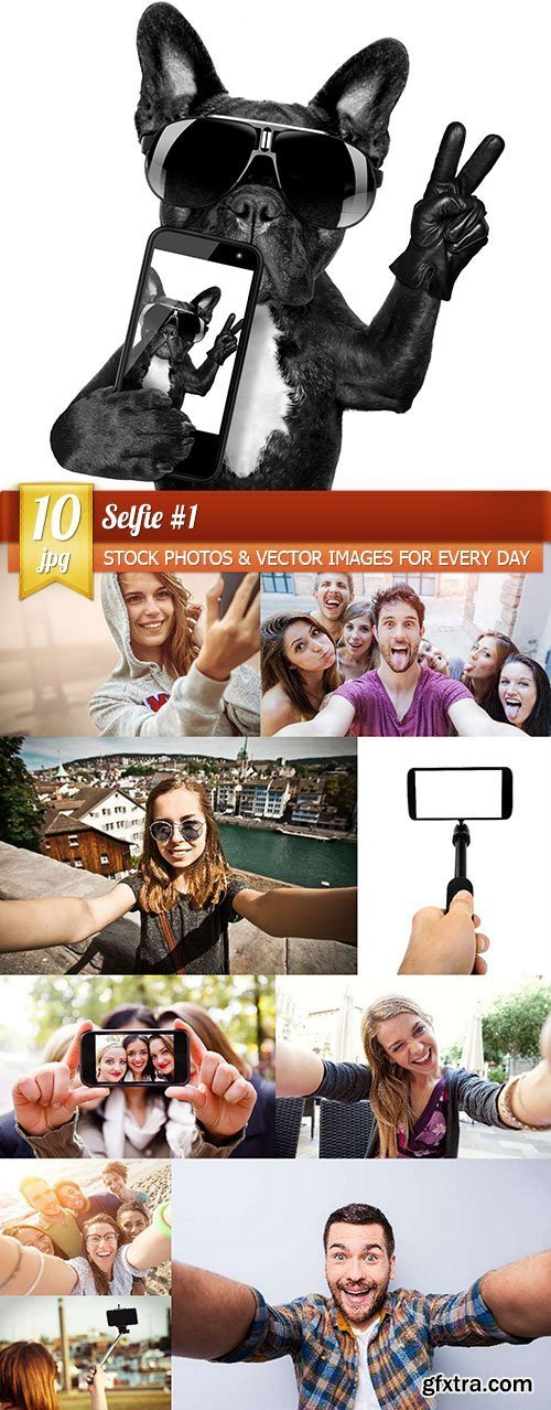 Selfie #1, 10 x UHQ JPEG