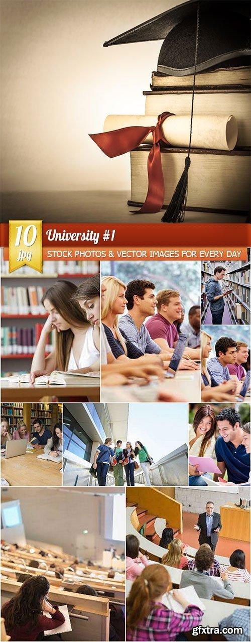 University #1, 10 x UHQ JPEG