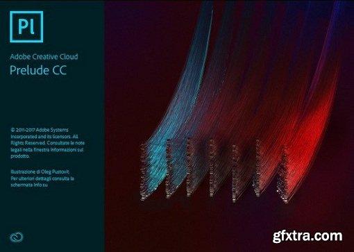 Adobe Prelude CC 2018 v7.0.0.134