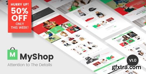 ThemeForest - MyShop v1.0.8 - Multipurpose Shopify theme - 20322850