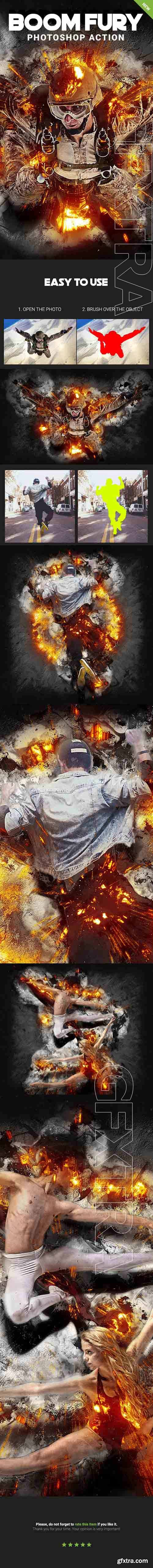 GraphicRiver - Boom Fury Photoshop Action 20819804