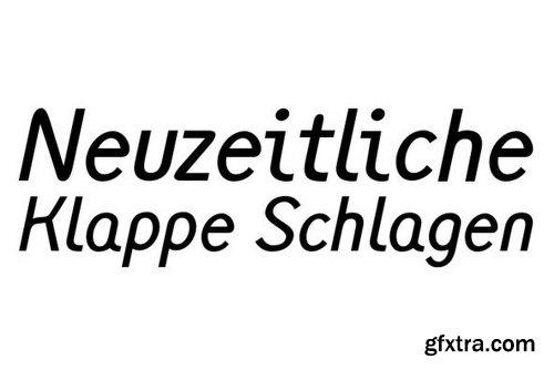 Monolith Sans Font Family - 8 Fonts