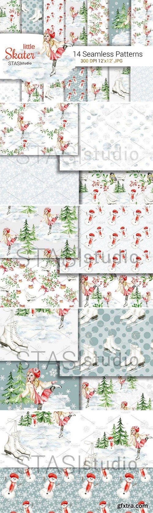 CM - Christmas Digital Paper Pack 1890105