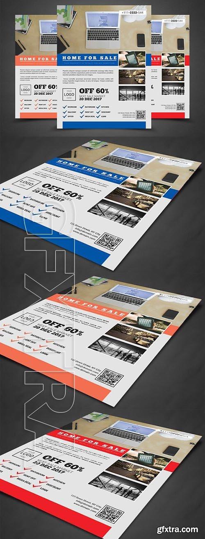 CreativeMarket - Home For Sale - Real Estate Flyer 1968721
