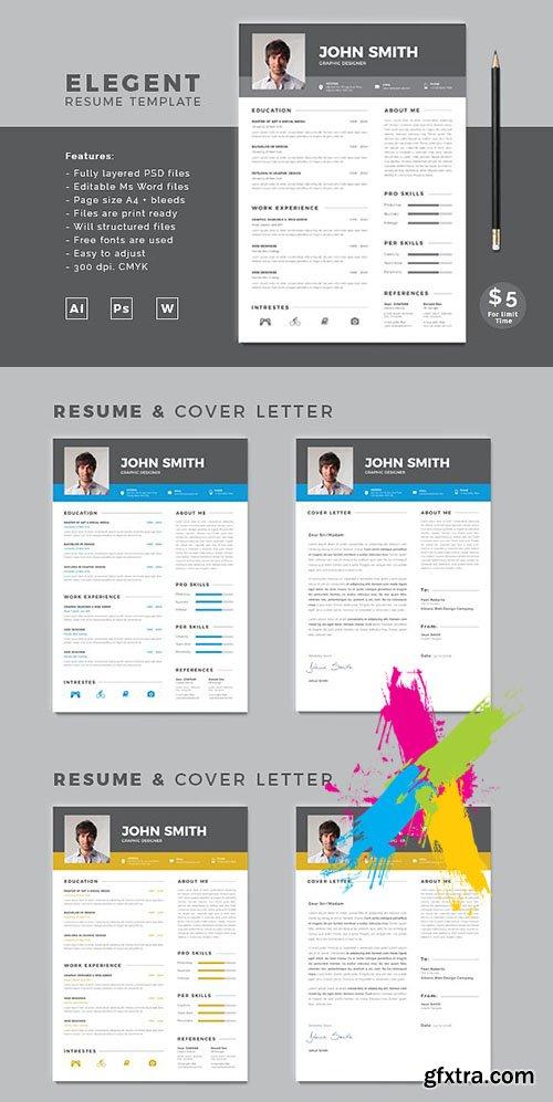 CreativeMarket - Resume 1969035