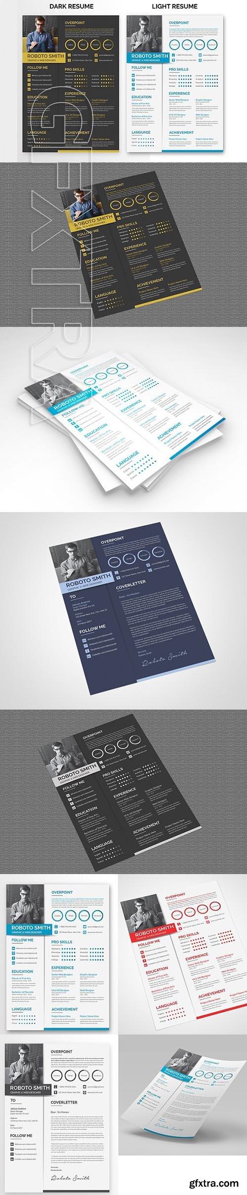 CreativeMarket - Resume 1969936