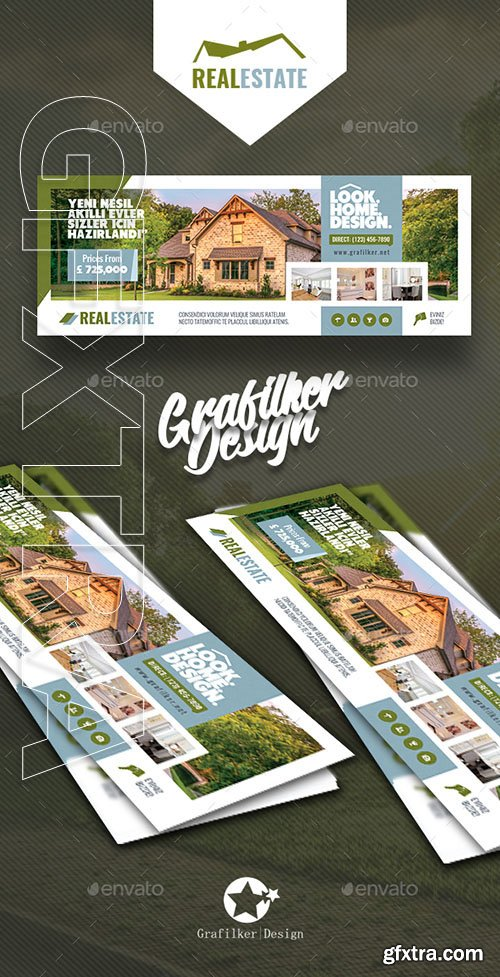 GraphicRiver - Real Estate Cover Templates 20805477