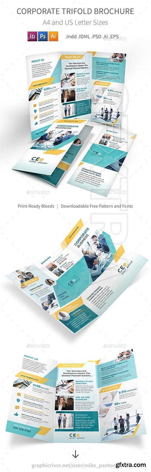 GraphicRiver - Corporate Business Trifold Brochure 5 20797431