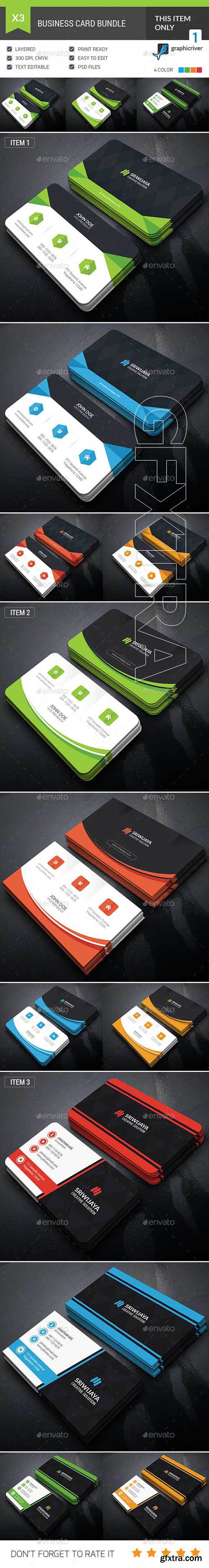 GraphicRiver - Professional Business Card Bundle 20809953