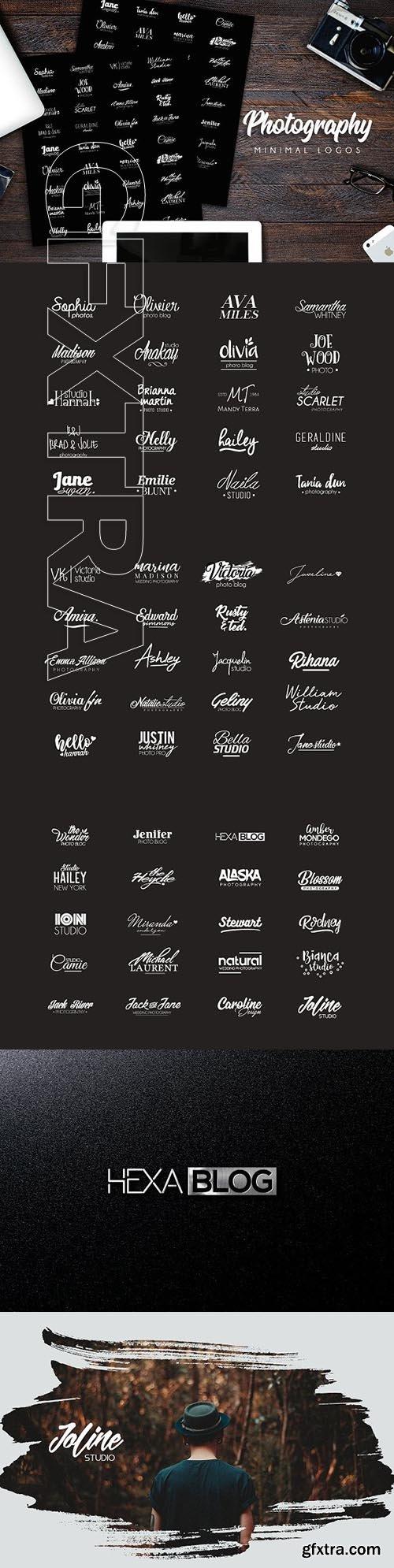CreativeMarket - Photography Logos 1985919