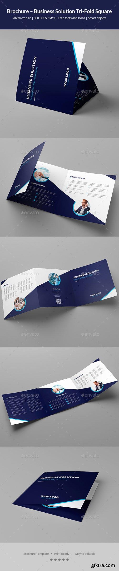 GR - Brochure – Business Solution Tri-Fold Square 20847452