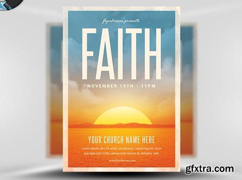 Faith Church Event Flyer