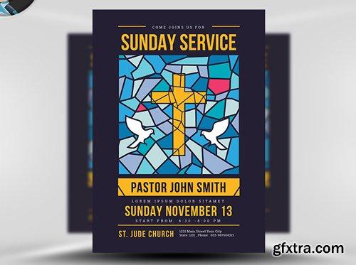 Sunday Service Flyer Template v3