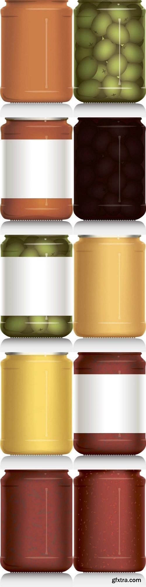Jar vector visual illustration
