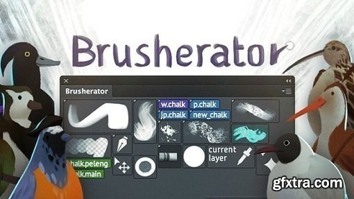 Brusherator 1.2 Plug-in for Adobe Photoshop CC