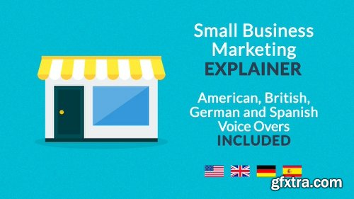 Videohive Small Business Marketing Explainer 19535919