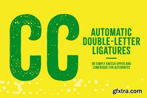 Citrus Gothic Font Family - 10 Fonts