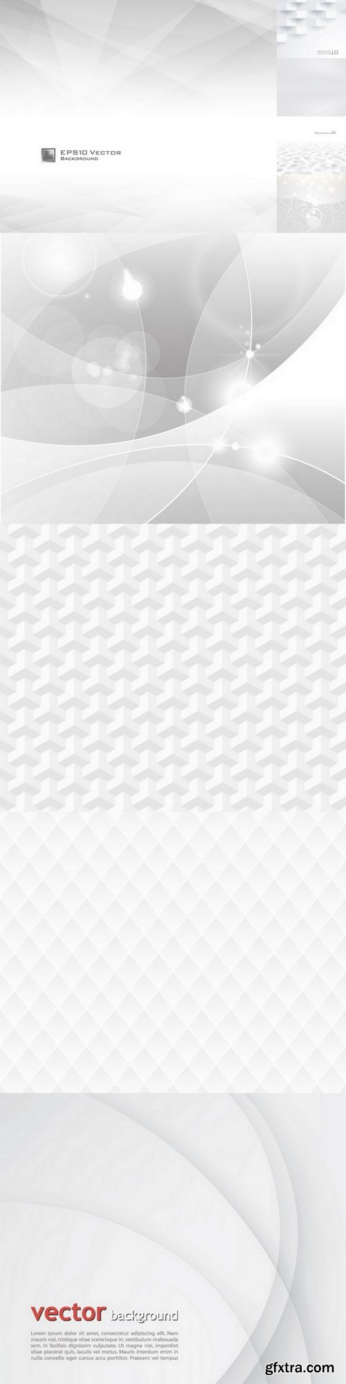 White & grey abstract background