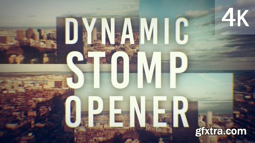 Videohive Dynamic Stomp Opener 20084085
