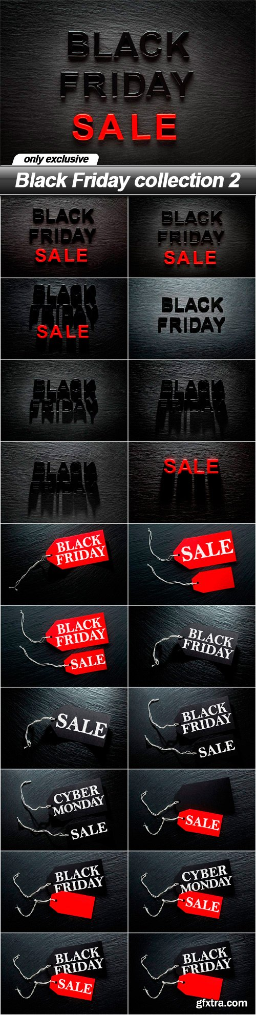 Black Friday collection 2 - 20 UHQ JPEG