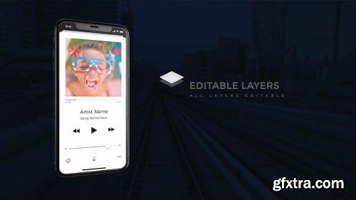 Motionarray Phone X Promo App Presentation 50180