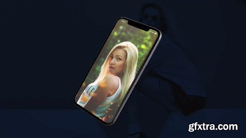 Motionarray Phone X Promo App Presentation 50180