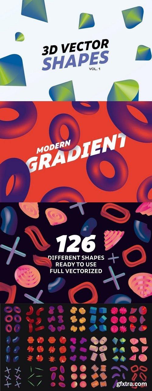 CM - 3D Gradient Shapes 1359459