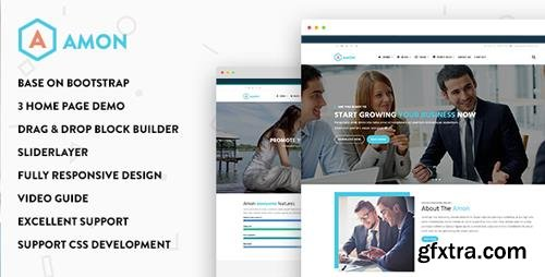 ThemeForest - Amon - Responsive Business Drupal Theme (Update: 23 December 16) - 16279554