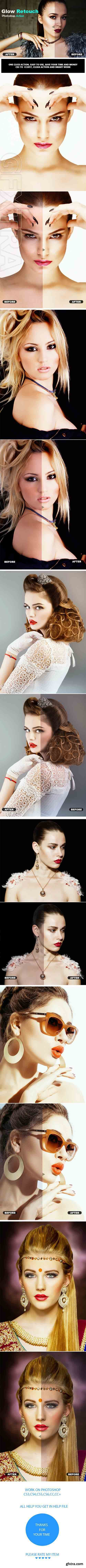 GraphicRiver - Glow Retouch Photoshop Action 20924703