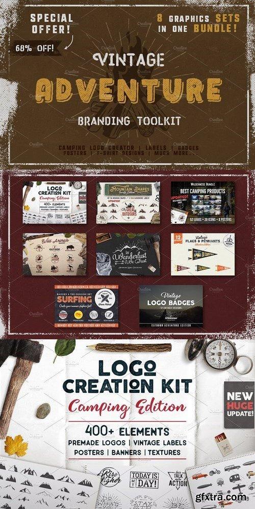 CM - Vintage Adventure Branding Toolkit 1348545
