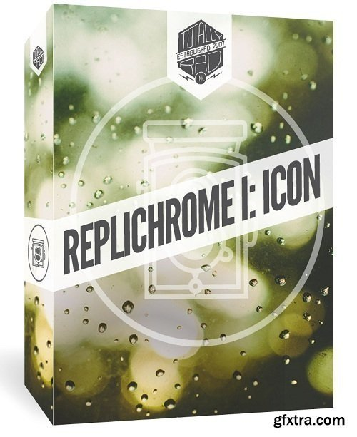 Totally Rad Replichrome I Icon v1.3.1/1.3.2 - Presets for Lightroom and Photoshop (Win/Mac)