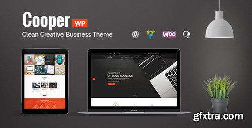 ThemeForest - Cooper v1.1.4 - Clean Creative Business Theme - 17004635