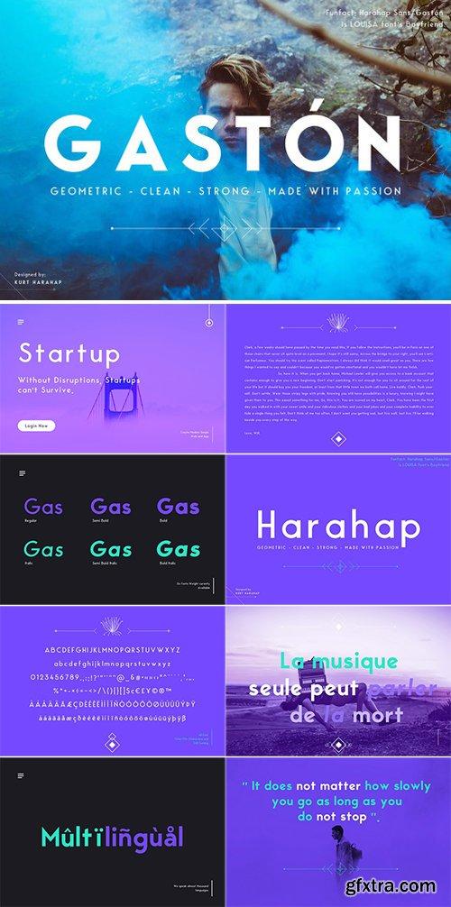 CM - Gaston/Harahap Sans Typeface 2001402