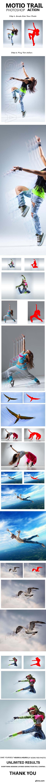 GraphicRiver - Motion Trail Photoshop Action 20939238