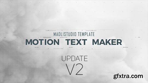 Videohive Motion Text Maker 18119422 (With 18 October 17 Update)