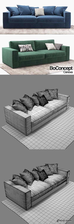 cm sofa boconcept cenova 1367702 vector photoshop. Black Bedroom Furniture Sets. Home Design Ideas