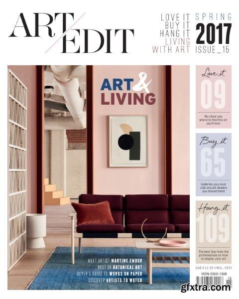 Art Edit - Issue 15 - Spring 2017