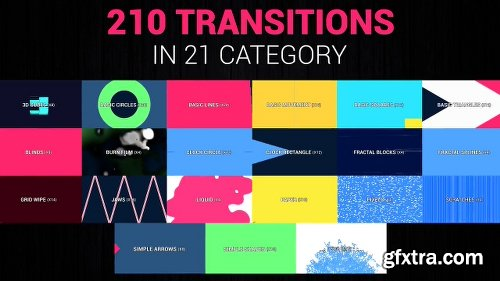 Videohive Ultimate Transitions Pack 4K 17798915
