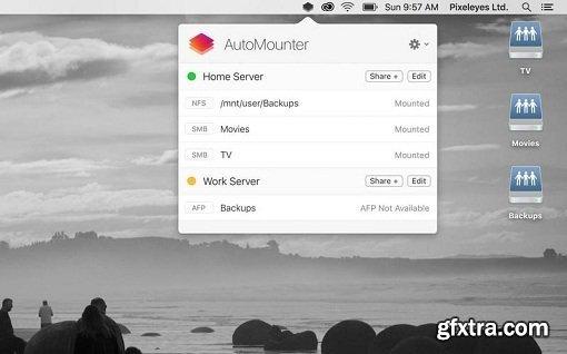 AutoMounter 1.6.5 macOS