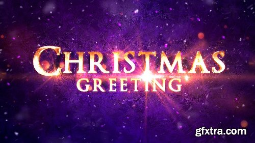 Videohive Christmas Greeting Titles 20921766