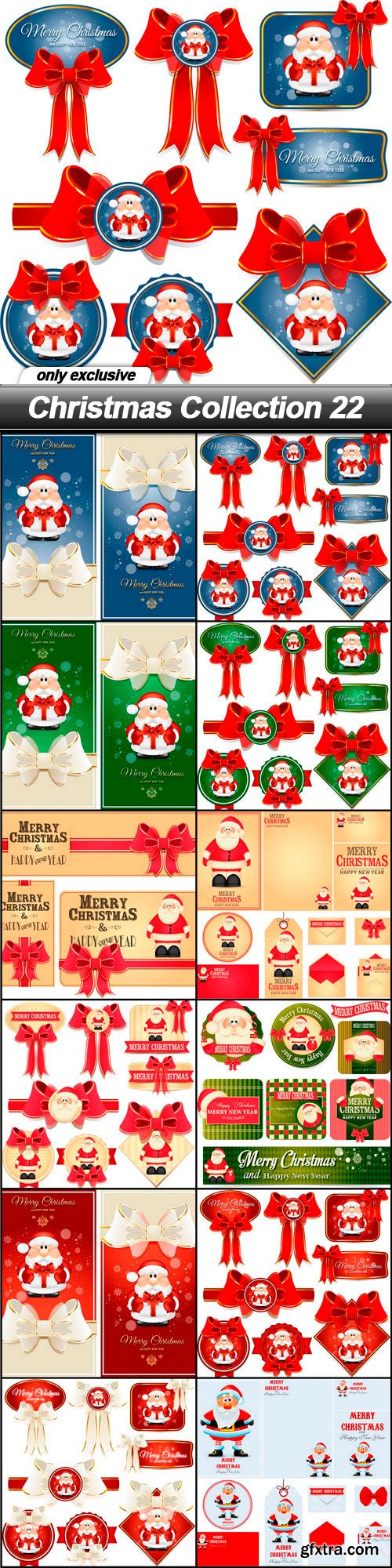 Christmas Collection 22 - 12 EPS