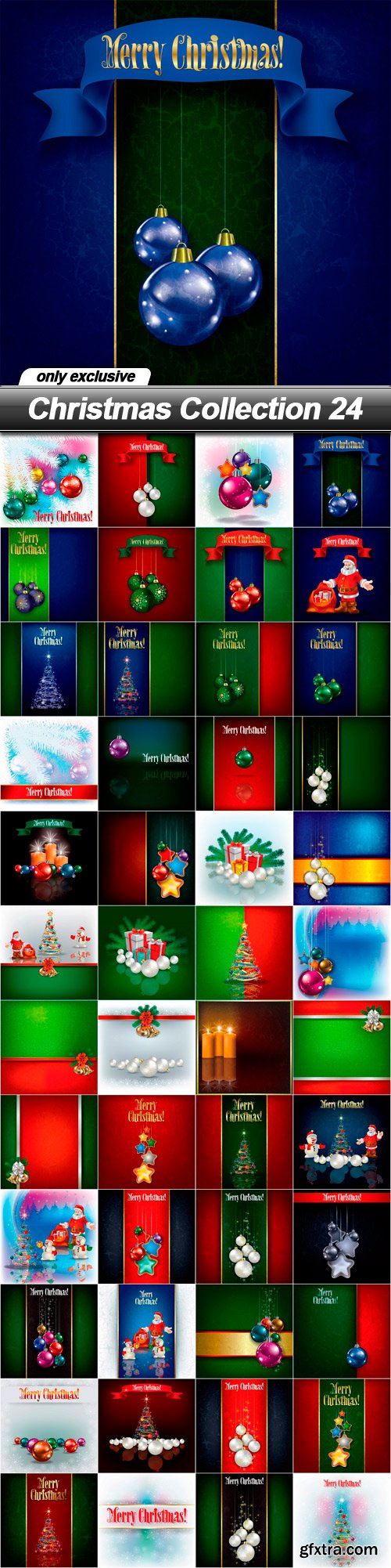 Christmas Collection 24 - 48 EPS