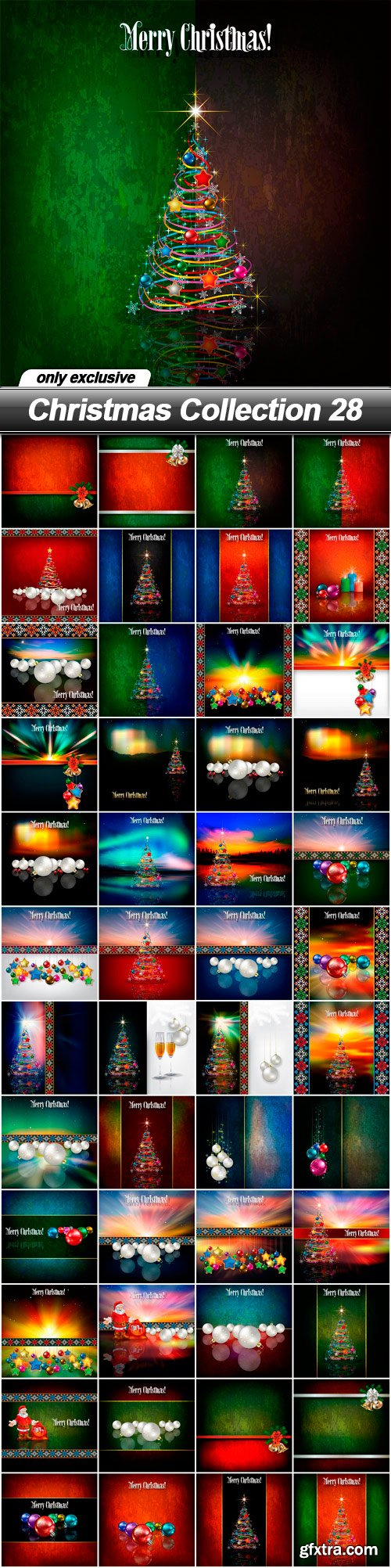 Christmas Collection 28 - 48 EPS
