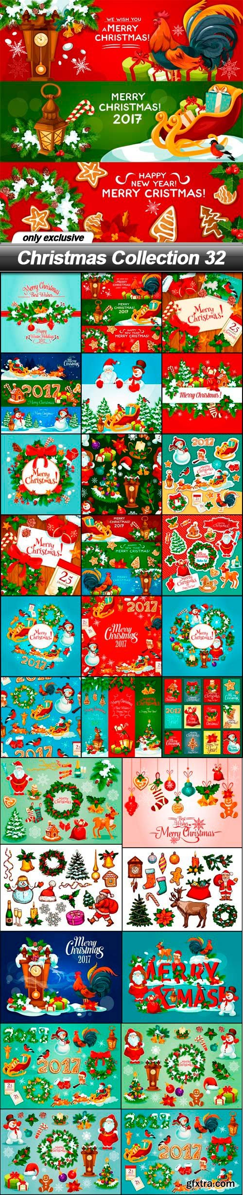 Christmas Collection 32 - 28 EPS