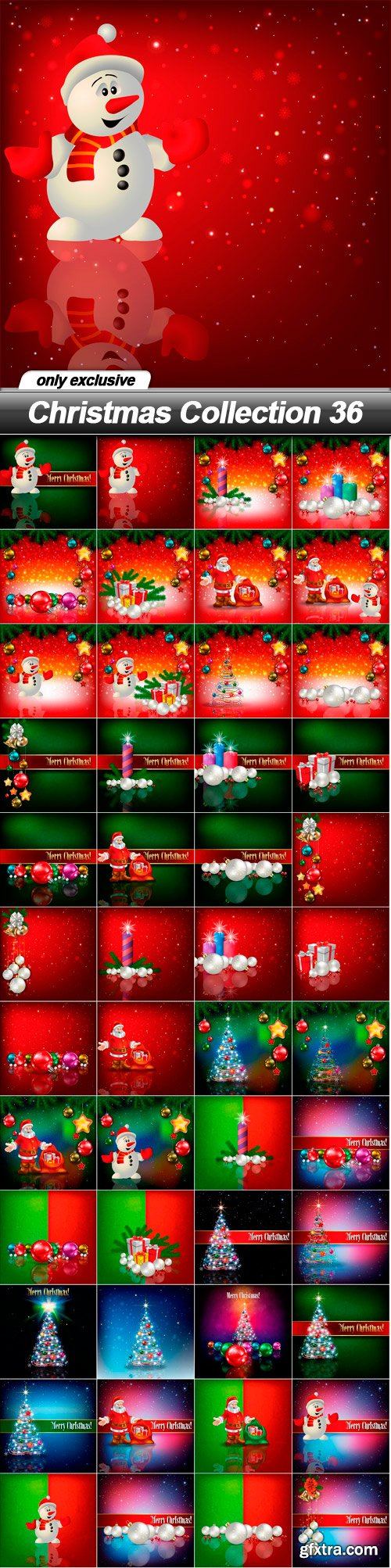 Christmas Collection 36 - 48 EPS