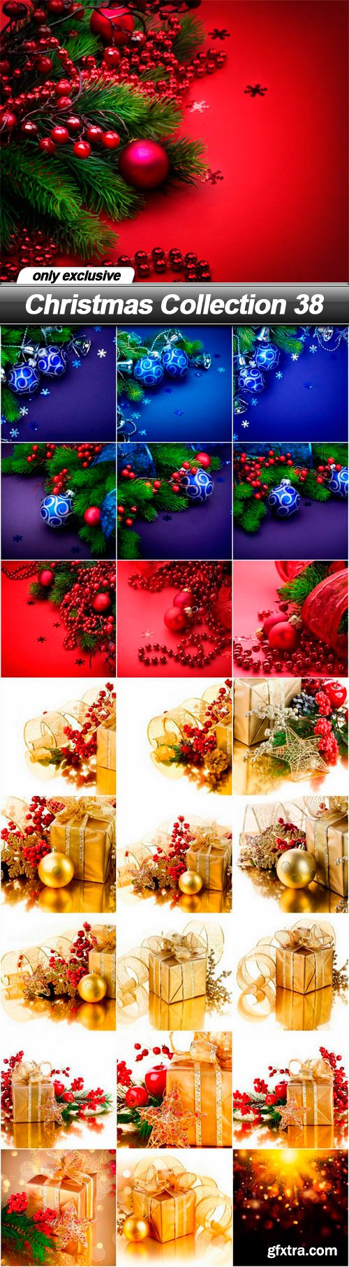 Christmas Collection 38 - 25 UHQ JPEG