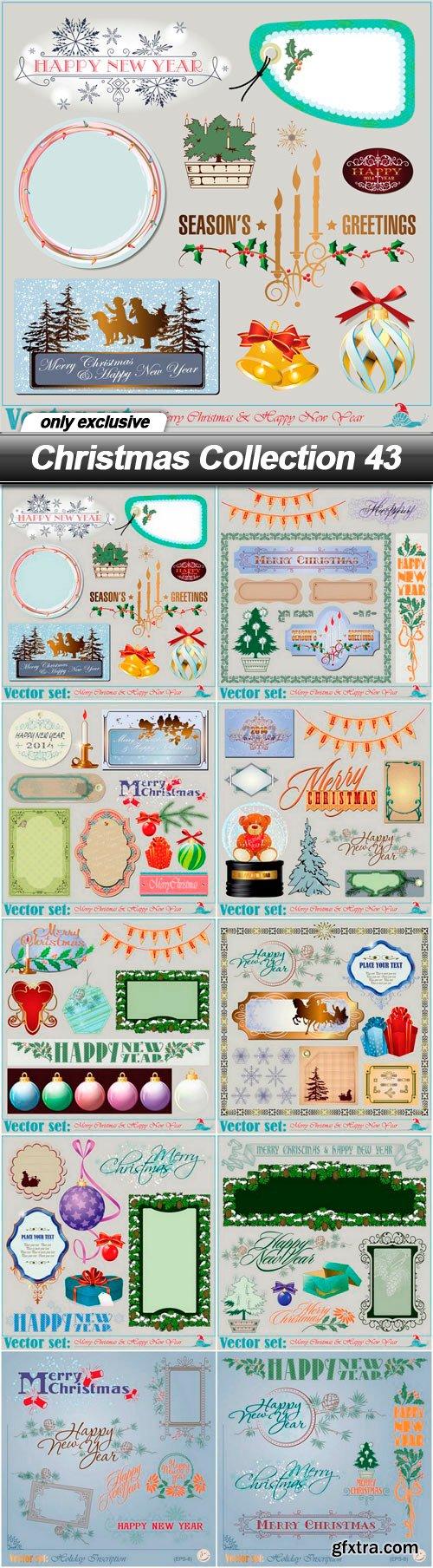 Christmas Collection 43 - 10 EPS